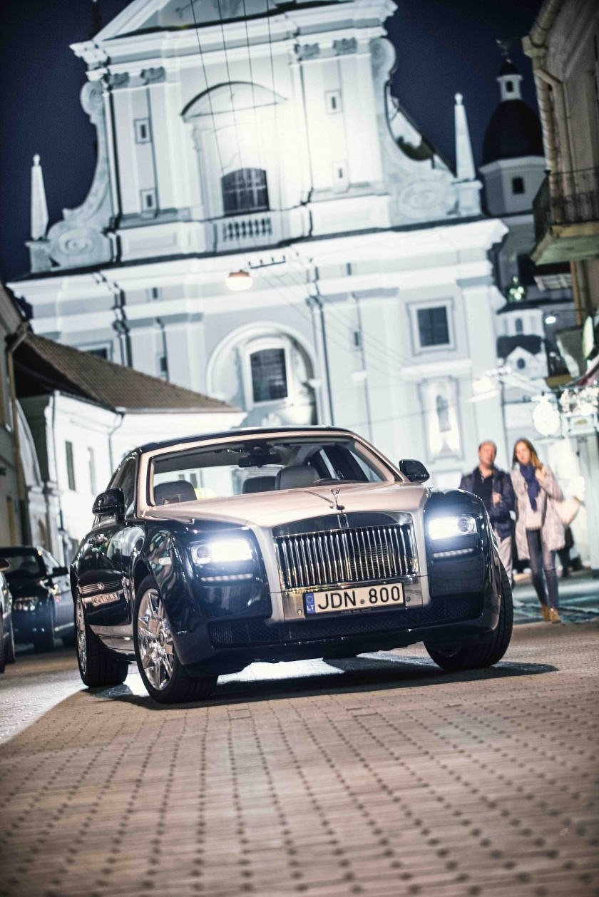 Roll Royce Ghost vestuvėms