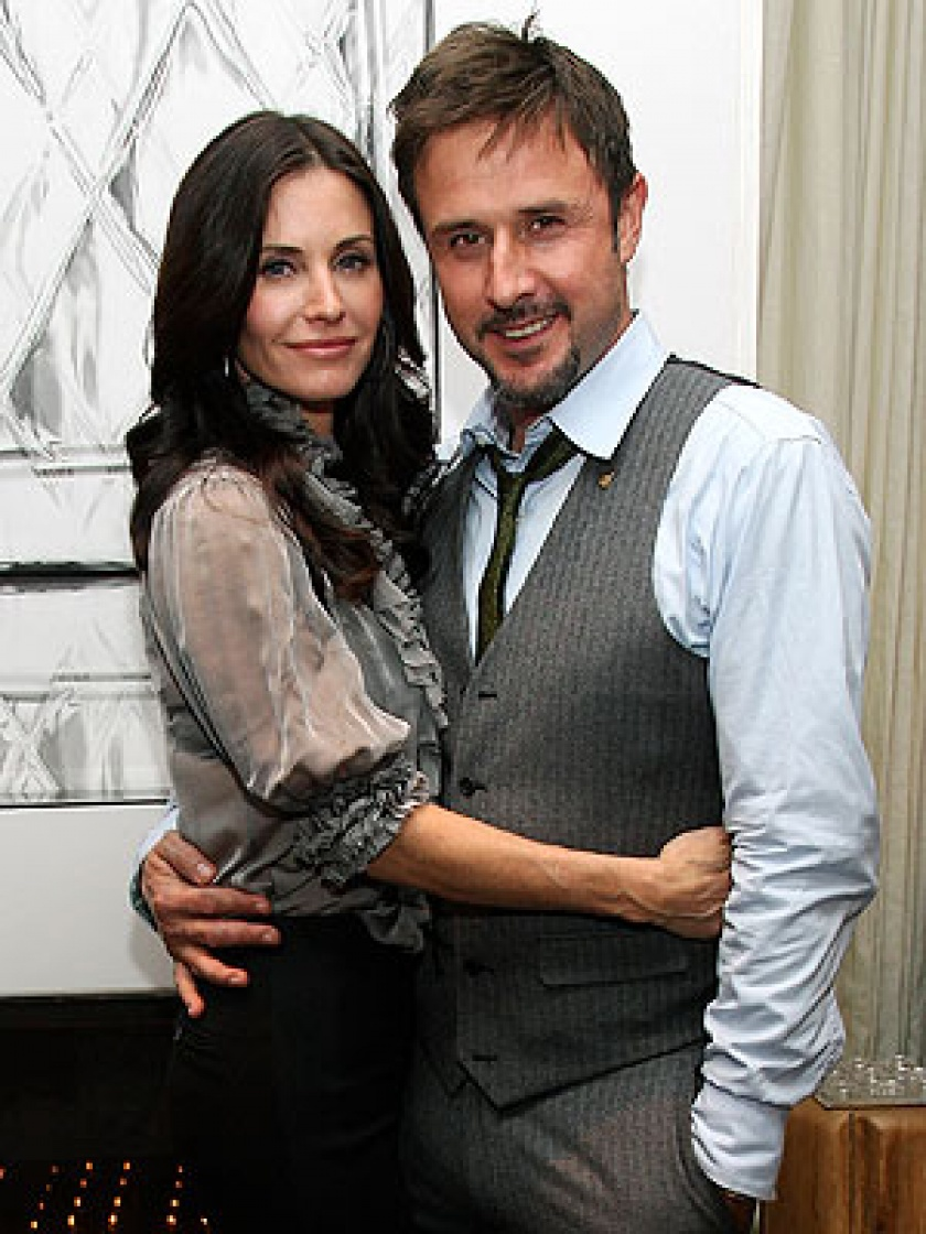 David Arquette ir Courteney Cox